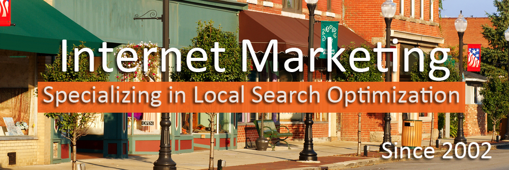 Internet marketing specializing in local search optimization